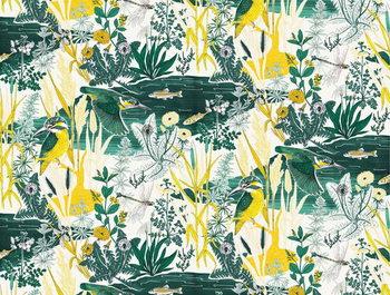 Kingfisher Reprodukcija umjetnosti
