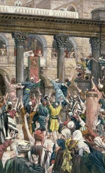 'Let Him be Crucified', illustration for 'The Life of Christ', c.1886-96 Reprodukcija umjetnosti