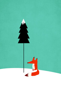 Ilustracija Little Mister Fox
