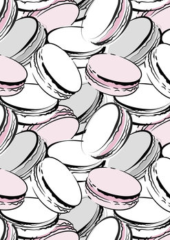 Ilustracija Macarons