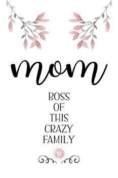 Ilustracija MOM Boss of this crazy family