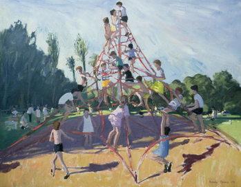 Mundy Playground, Markeaton;Derby, 1990 Reprodukcija umjetnosti