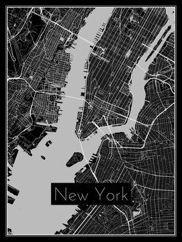 Karta New York