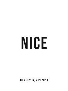 Ilustracija Nice simple coordinates