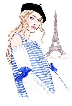 Ilustracija Paris mon amour! - 1