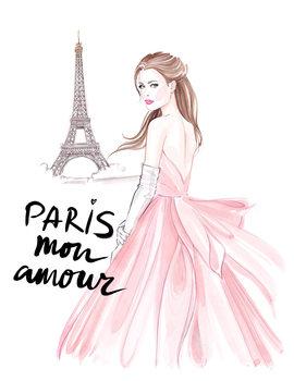 Ilustracija Paris mon amour! - 2