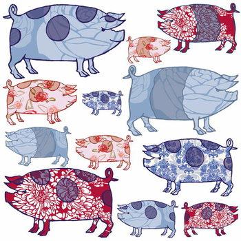 Piggy in the Middle, 2005 Reprodukcija umjetnosti