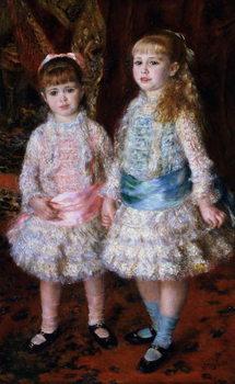 Pink and Blue or, The Cahen d'Anvers Girls, 1881 Reprodukcija umjetnosti