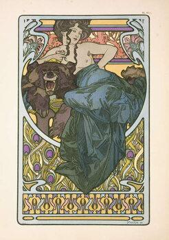 Plate 47 from the book 'Documents Decoratifs' Reprodukcija umjetnosti