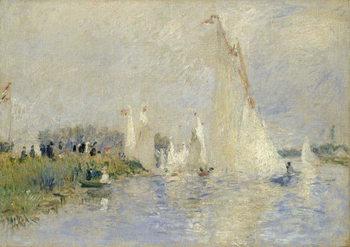 Regatta at Argenteuil, 1874 Reprodukcija umjetnosti