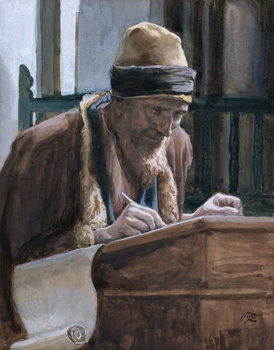 Saint Mark, illustration for 'The Life of Christ', c.1886-94 Reprodukcija umjetnosti