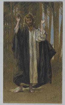 Saint Simon, illustration from 'The Life of Our Lord Jesus Christ' Reprodukcija umjetnosti