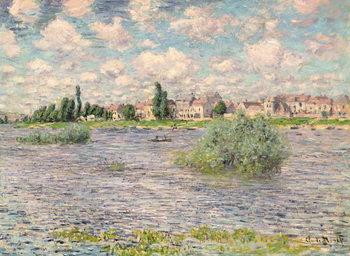 Seine at Lavacourt Reprodukcija umjetnosti