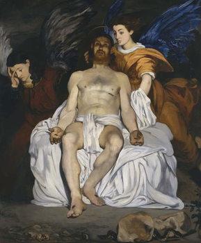 The Dead Christ with Angels, 1864 Reprodukcija umjetnosti