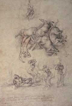 The Fall of Phaethon, 1533 Reprodukcija umjetnosti