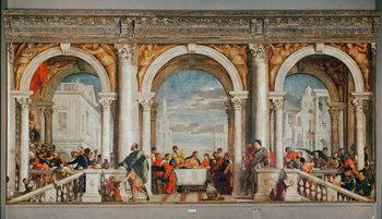 The Feast in the House of Levi Reprodukcija umjetnosti