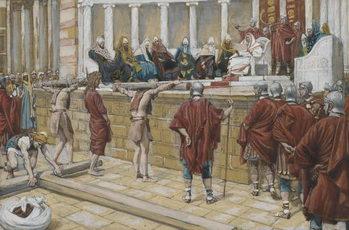 The Judgement on the Gabbatha, illustration from 'The Life of Our Lord Jesus Christ', 1886-94 Reprodukcija umjetnosti