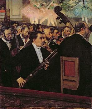 The Opera Orchestra, c.1870 Reprodukcija umjetnosti