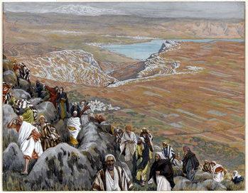 The People Seek Christ to Make him King, illustration for 'The Life of Christ', c.1886-94 Reprodukcija umjetnosti