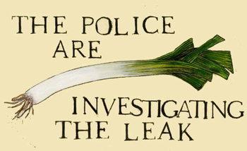 The police are investigating the leak Reprodukcija umjetnosti