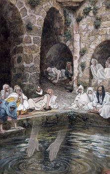 The Pool of Bethesda, illustration for 'The Life of Christ', c.1886-94 Reprodukcija umjetnosti