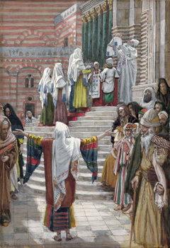 The Presentation of Christ in the Temple, illustration for 'The Life of Christ', c.1886-94 Reprodukcija umjetnosti