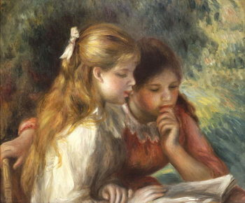 The Reading, c.1890-95 Reprodukcija umjetnosti
