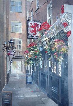 The Red Lion, Crown Passage, St. James's, London Reprodukcija umjetnosti
