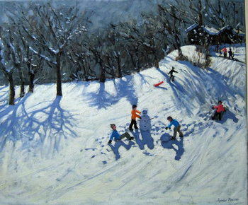 The Snowman,Morzine, Reprodukcija umjetnosti