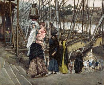 The Sojourn, Egypt, illustration for 'The Life of Christ', c.1886-94 Reprodukcija umjetnosti