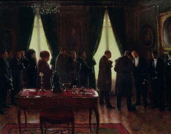 The Widower, 1910 Reprodukcija umjetnosti