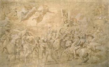 Apparition of St. Peter and St. Paul Reprodukcija umjetnosti
