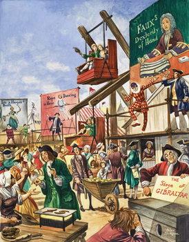 Bartholomew Fair Reprodukcija umjetnosti