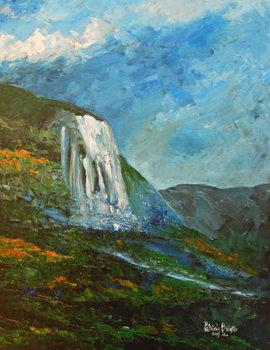 Caskad lakay, 2015 Reprodukcija umjetnosti