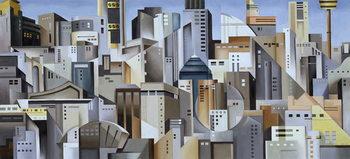 Composition Looking East Reprodukcija umjetnosti