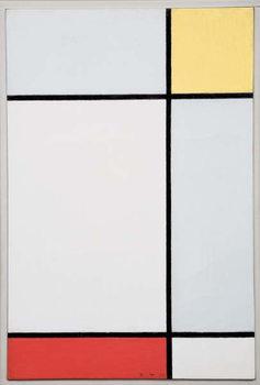 Composition with Yellow and Red, 1927 Reprodukcija umjetnosti