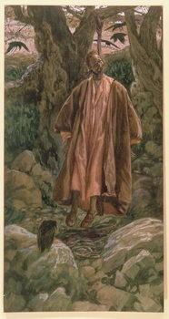 Judas Hangs Himself, illustration for 'The Life of Christ', c.1886-96 Reprodukcija umjetnosti