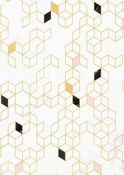 Keziah Gold and Marble Reprodukcija umjetnosti