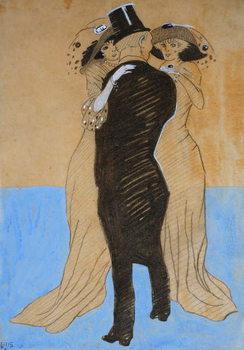 La Flatterie, 1908 Reprodukcija umjetnosti