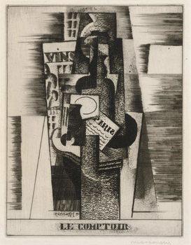 Le Comptoir (The Bar), 1920, printed 1922 Reprodukcija umjetnosti