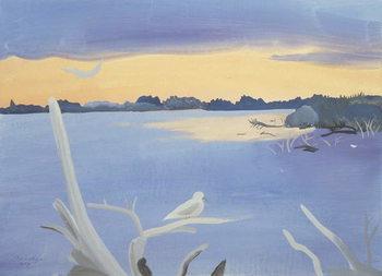 Le Rhone au Gabian, 1987 Reprodukcija umjetnosti