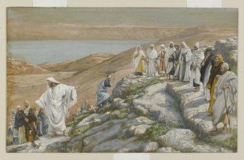 Ordaining of the Twelve Apostles, illustration from 'The Life of Our Lord Jesus Christ' Reprodukcija umjetnosti