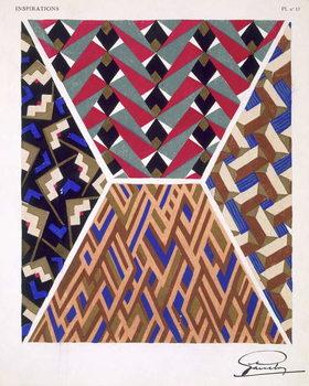 Plate 17, from 'Inspirations', published Paris, 1930s Reprodukcija umjetnosti