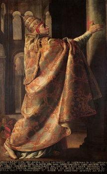 Pope Urban II (c.1035-99) Consecrating the Church of St. Sernin of Toulouse Reprodukcija umjetnosti