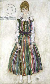 Portrait of Edith Schiele, the artist's wife, 1915 Reprodukcija umjetnosti