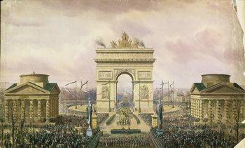 Return of the Ashes of the Emperor to Paris, 15th December 1840 Reprodukcija umjetnosti