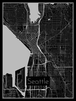 Karta Seattle