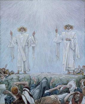 The Ascension, illustration for 'The Life of Christ', c.1884-96 Reprodukcija umjetnosti