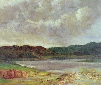 The Black Lake, 1872 Reprodukcija umjetnosti