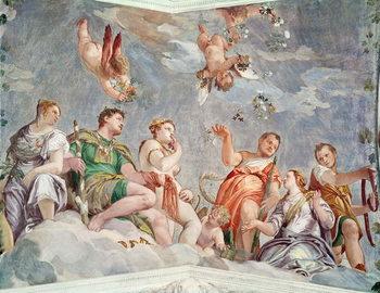 The Court of Love or, The Conjugal Virtues, 1562 Reprodukcija umjetnosti